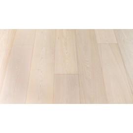 Eg lamelplank. Select. Dim. 22 x 189 x 1860 mm. Hvid matlak.