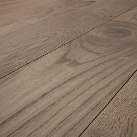 Massiv Eg planker. Dim. 20 x 167 mm. Farvet hårdvoksolie.