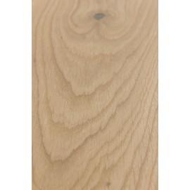 Ubehandlet. 15/4 mm Lamel sildebens planker i Europæisk eg. Bredde 140 mm. Select.