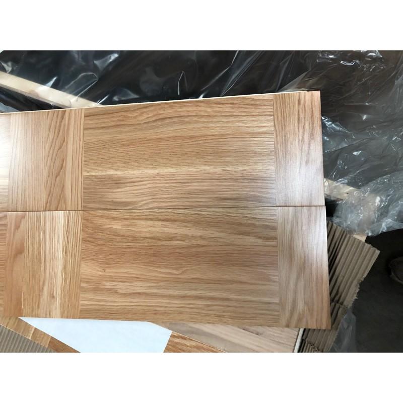 Lamel Eg 3 stav. Hollandsk Mønster. 4 stave på tværs. Light Agno. Select. Dim. 22 x 200 x 3120 mm. Semi Natur matlak.