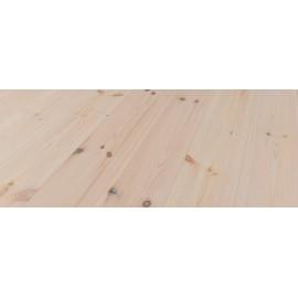 Massiv Fyr Planker. Classic. Dolomit. Dim. 21 x 137 mm. Hårdvoksbehandlet, Hvid.