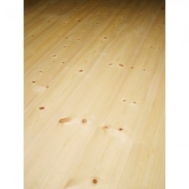 Massiv Fyr Plank. Classic. Dim. 21 x 137 mm. Ubehandlet.