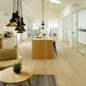 Bambus Planker. Massiv. Dim. 19 x 150 x 1900 mm. Nordic Grey. Hvid matlak.