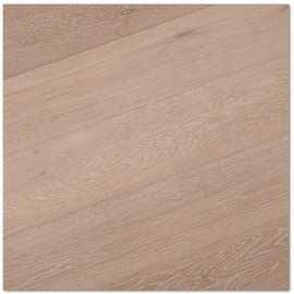 Basicplank. Lamel Eg Planker. Dim. 15 x 189 mm. Natur. Let børstet. Hvid Mat Lak.