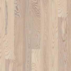 Lamel Ask Planker. Dim. 14 x 138 x 2200 mm. Hvid matlak.